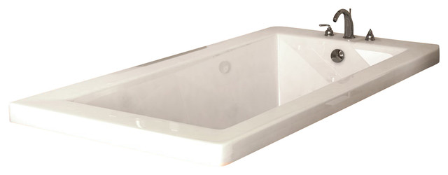 Atlantis Tubs 4272vnc Venetian 42x72x23 Inch Rectangular Soaking Bathtub.