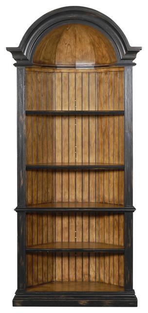 Agatha Corner Cabinet - Traditional - Display And Wall Shelves ...