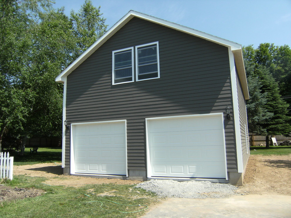 2 Story Vaulted Garage + Guest  house