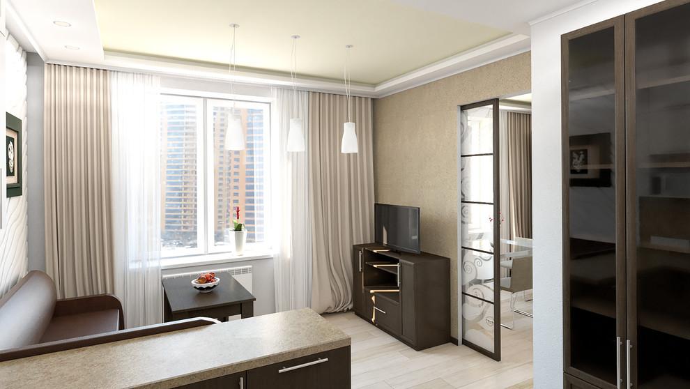 Дизайн-проект квартиры в Реутове, гостиная