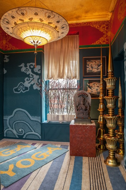 Holiday House Yoga Room - Eclectic - New York - by Odegard Carpets