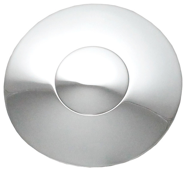 Universal On Bathroom Sink Drain With Overflow Chrome Polished