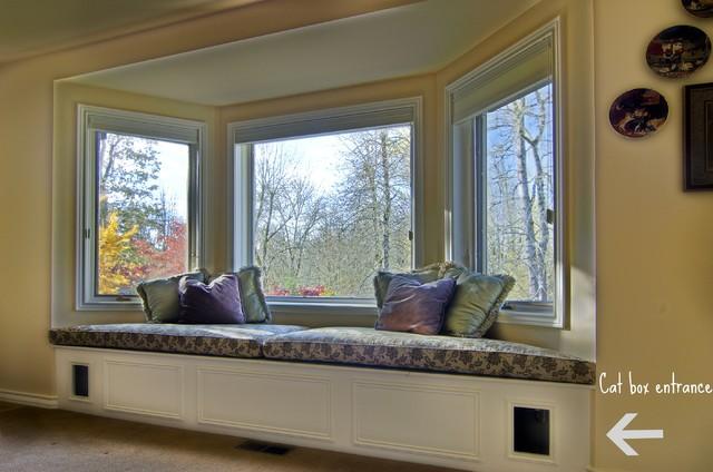 Wondrous Catbox Window Seat Contemporary Portland By Integra Ibusinesslaw Wood Chair Design Ideas Ibusinesslaworg