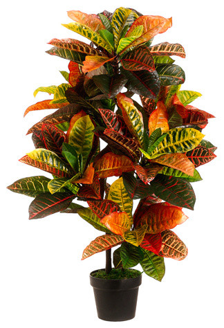 Silk Plants Direct Silk Plants Direct Croton Plant Pack