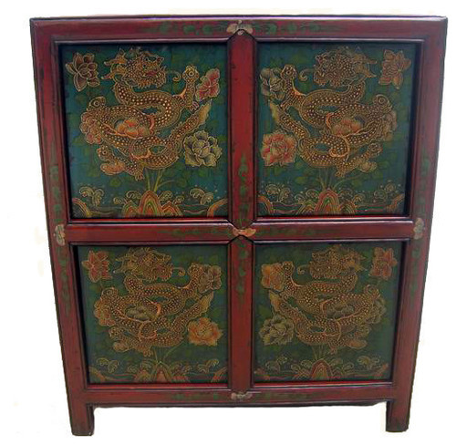 Consigned Antique, Tibetan Cabinet
