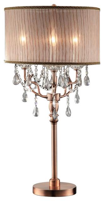 Rosie Crystal Table Lamp
