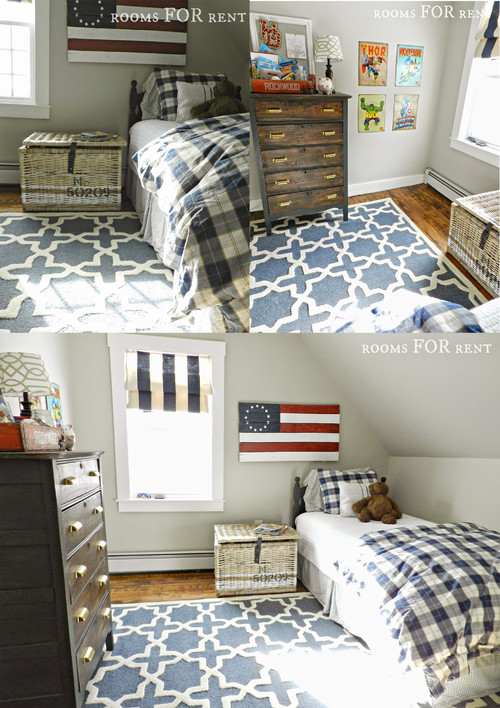 Boy's room makeover with cute Rugs USA Tuscan Trellis VS91 Charcoal on cyclone design homes, yellow design homes, brick design homes, oak design homes, glass design homes, royal design homes, natural design homes, stone design homes,
