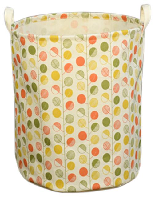 Stylish Hamper Laundry Storage Basket, No.06.