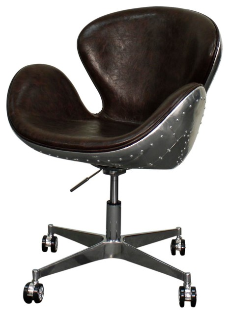 Duval Swivel Chair - Industrial - Office Chairs - by SohoMod furniture