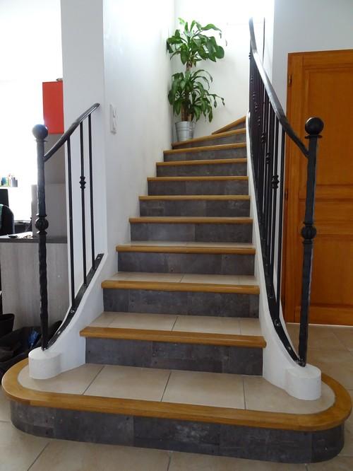 relooking d 39 un escalier. Black Bedroom Furniture Sets. Home Design Ideas