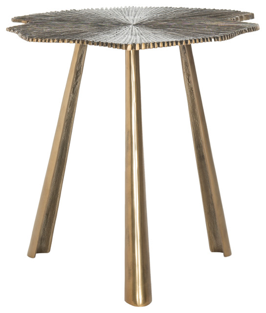 Safavieh Portia Leaf Side Table.