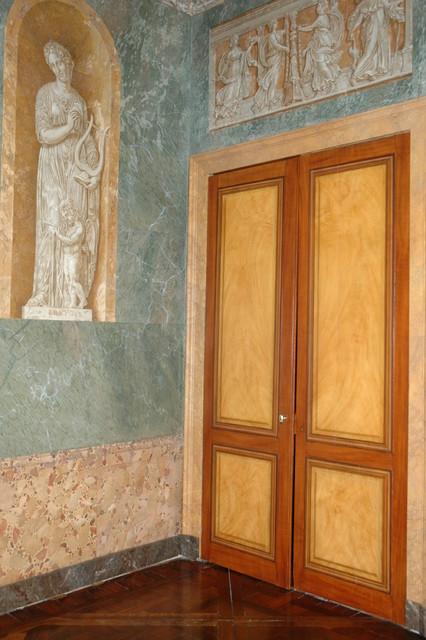 Décor De Style Néorenaissance Italienne Dans Le Grand Salon Dun