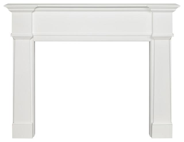 The Richmond 48 Fireplace Mantel Mdf White Paint.