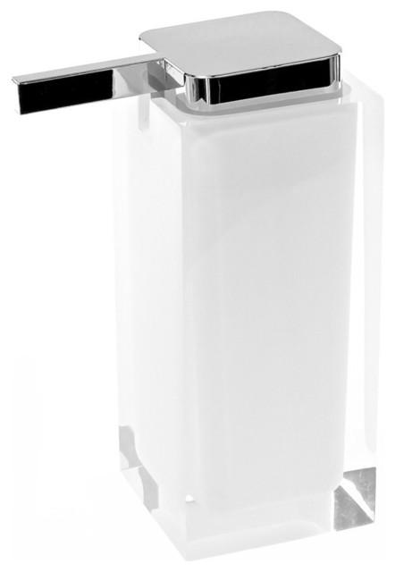 Square Countertop Soap Dispenser Contemporary Soap