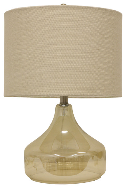 Luster Glass Table Lamp.