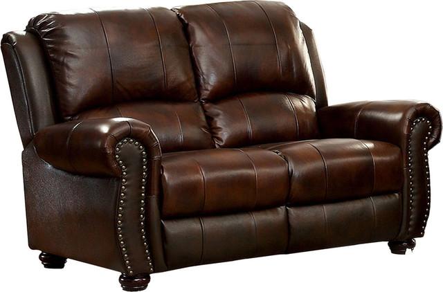 Brilliant Sterling Leather Loveseat Idf 6191 Lv Inzonedesignstudio Interior Chair Design Inzonedesignstudiocom