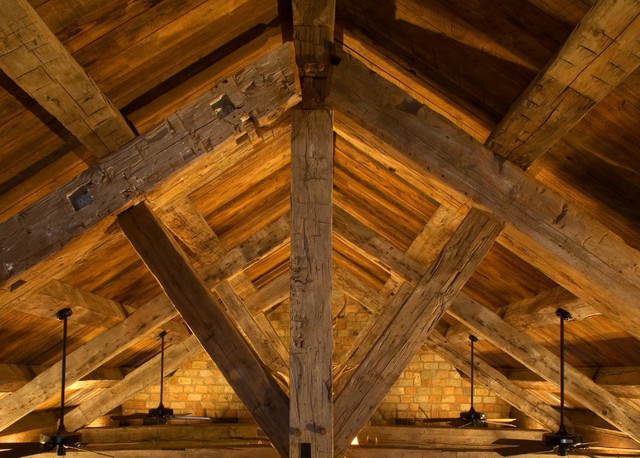Beams Vaulted Ceiling