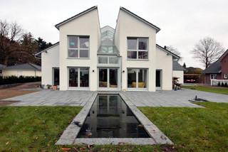 wohnhaus mit offenem wohnkonzept hamburg von architekt vsm. Black Bedroom Furniture Sets. Home Design Ideas