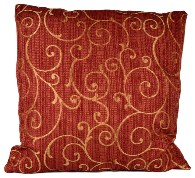Vinali 90/10 Duck Insert Pillow With Cover, 22x22.