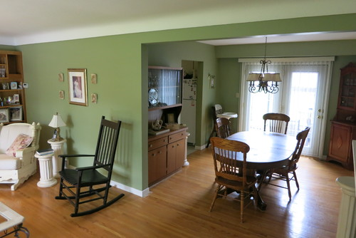 To Take Down Walls Or Notin Kitchen Dining Living Roomsidesplit