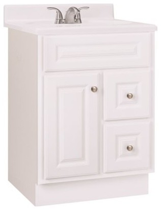 Rsi Home Products Hamilton Bathroom Vanity Cabinet Fully Embled 2 Drawer