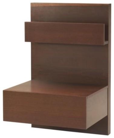 Malm light brown nightstand