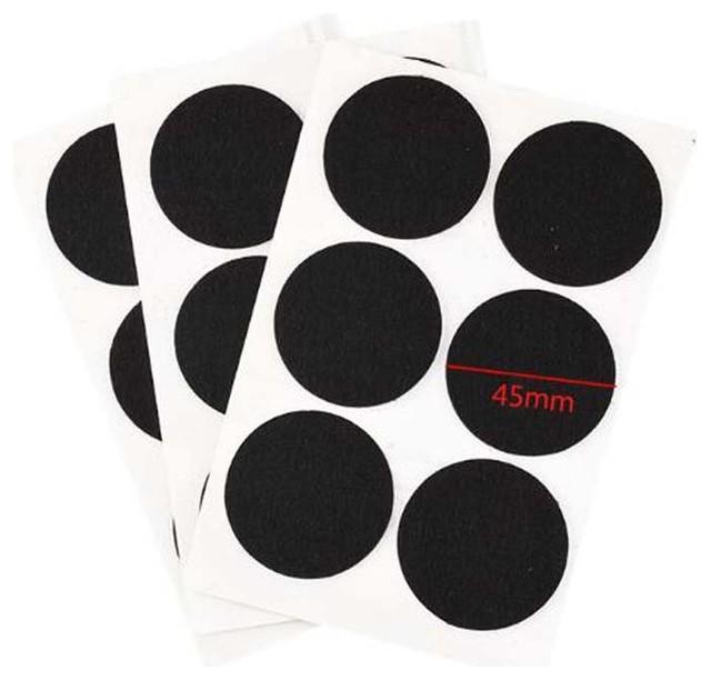 Black Chair Pads Felt Pads Furniture Pads Best Floor Protectors 54 Pcs