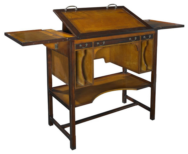 Tall Bureau Architect Desk Traditional Drafting Tables