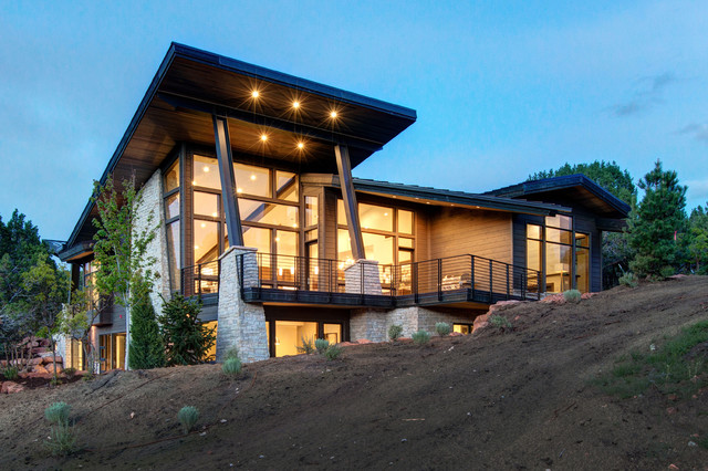 Mountain modern home in red ledges heber city utah for Home designs utah