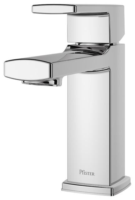 Pfister LG42-DA0 Deckard 1.2 GPM 1 Hole Bathroom Faucet - Chrome