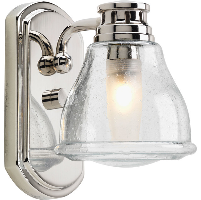 Progress Lighting Academy 1 Light Bath And Vanity Fixture With Bulb