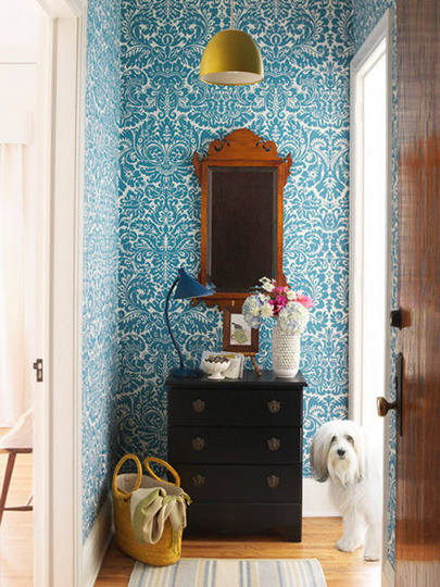 Neat & Beautiful Entryways Organization Inspiration | Apartment Therapy DC eclectic entry
