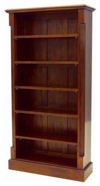 Solid Mahogany Large Bookcase