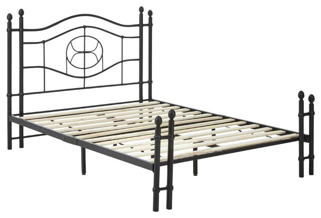 Dreams Bespoke Charlotte Metal Platform Bed Frame, Queen.