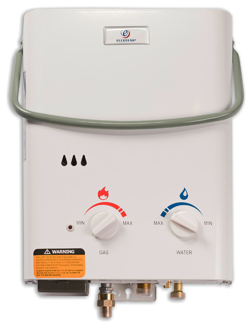 Eccotemp L5 Portable Tankless Water Heater.