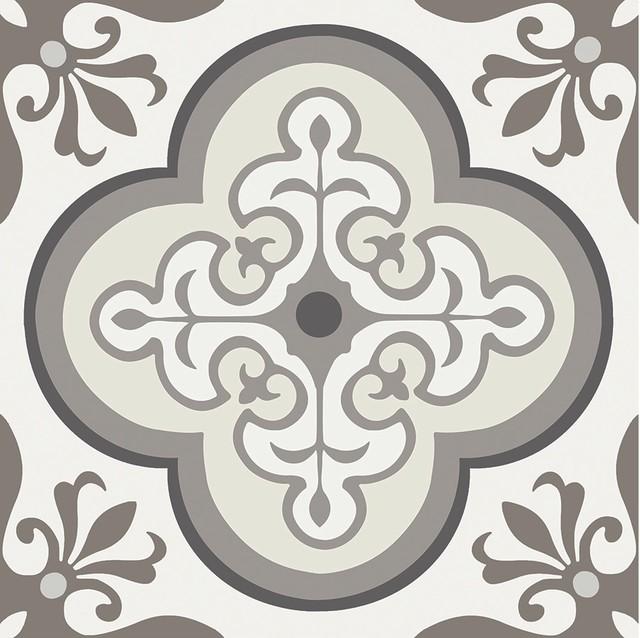 12 Quot X12 Quot Flooradorn Neutral Traditional Tiles Set Of 6