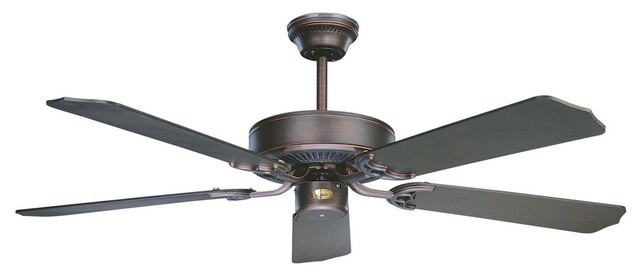 Concord Fans California Home 42 Oli Rubbed Bronze Ceiling Fan - +42ch5orb.