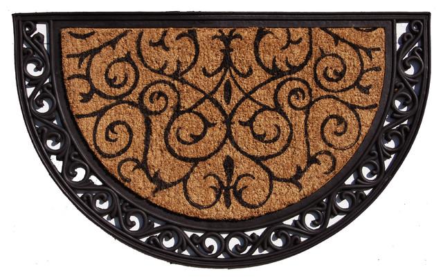 Ornate Scroll Doormat 2'x3'