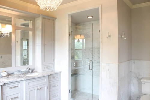 Empty Room To Luxurious Master Bathroom Suite