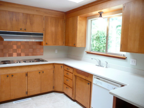 any ideas it 39 s a 60 39 s kitchen ok space cabinets are nice On kitchen cabinets 60