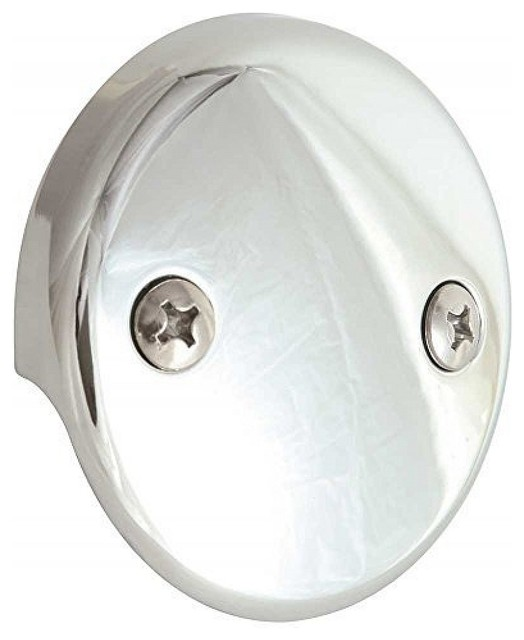 proplus bath drain face plate, 2-hole, pack of 10 - transitional