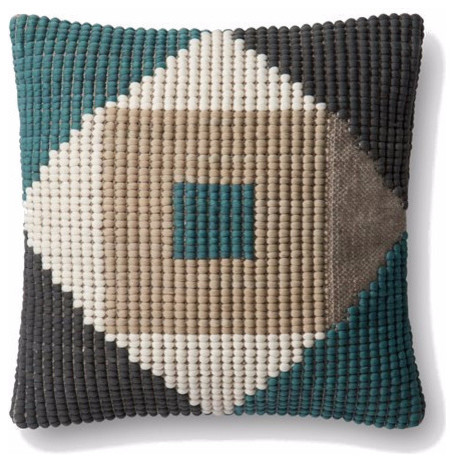 Loloi Symmetry Indoor Outdoor Pillow Contemporary Cushions And Pillows By Trovati Studio