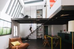 Visite Privée : Un loft parisien agrandi tutoie les étoiles