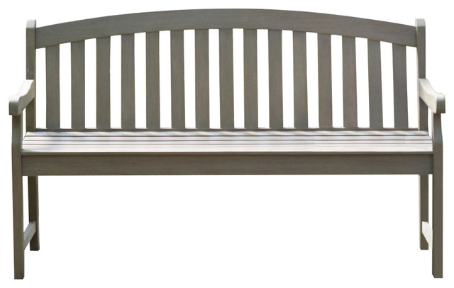 Outdoor Curved Back 5 Ft Garden Bench