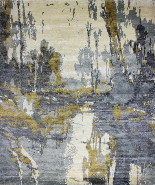 Contemporary Abstract Rugs Rugs Ideas