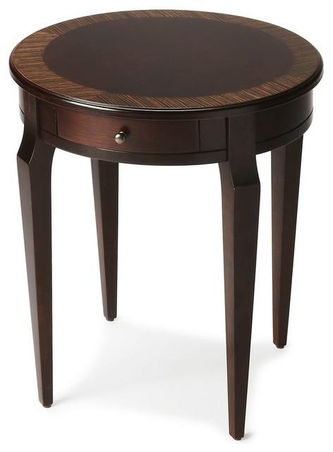 Offex Home Decor Side Table Light Cherry Nouveau
