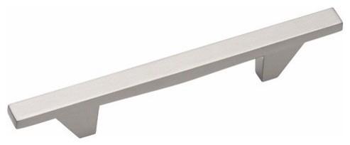 Amerock BP26135-G10 Sleek Satin Nickel Cabinet Pull