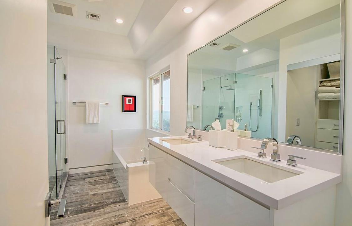 Bathroom remodel in calabasas