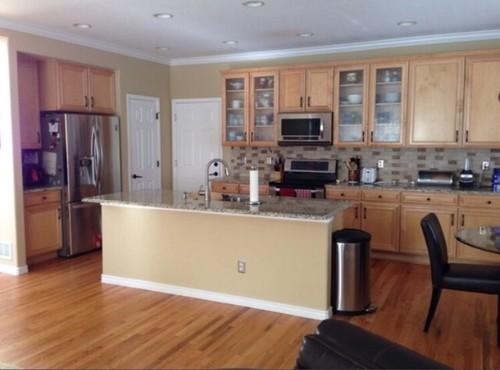 Kitchen Cabinets: White or Cherry?