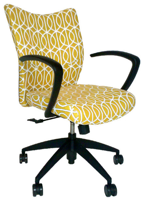 upholstered office chair - contemporary - office chairs -julia
